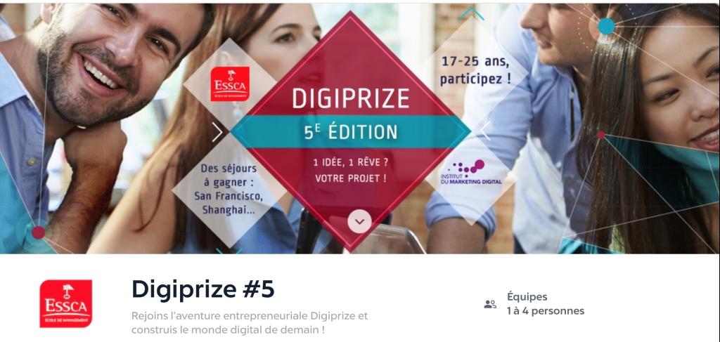 Digiprize#5 ESSCA